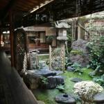 Внутренний садик дома