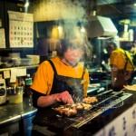 В этом ресторанчике нам подали изумительные сиитакэ
