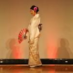 Классическое хомонги (кимоно для визитов)