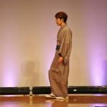 Мальчик в неформальном кимоно