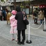 Девушка в розовом, под цвет сакуры