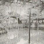 Ещё один снимок одного из храмовых мостов. Начало XX века