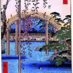 Укиё-э работы Хиросигэ, середина XIX века