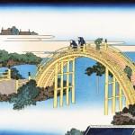 Мосты Камэйдо Тэндзин по версии Хокусая