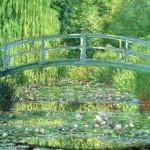 """Мосты Камэйдо Тэндзин, глицинии и укиё-э напомнили мне """"Пруд с водяными лилиями"""" Моне"""