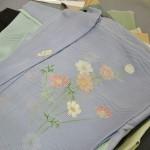 Летнее кимоно, совершенно прозрачное