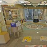 """Снимок """"Google Street View"""" внутри музея"""