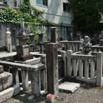 На этом кладбище много могил того же возраста, а то и старше