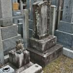 Старые могилы в окружении новых. Долго разглядывала маленький памятник слева...