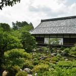 Главное здание от чайного домика