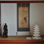 Токонома в дежурно-гостевой комнате