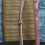 Это просто отдельно комплект кимоно, который я надевала для прогулки в Дзёнан-гу. Чтобы было понятнее идею