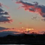 Через пять минут облако превратилось в огненного дракона или птицу-феникс