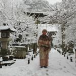 Изображаю Снегурочку с японским колоритом