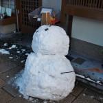 Снеговик, японская версия